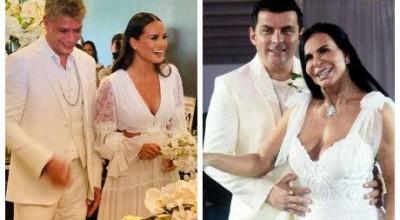 Gretchen a Fabio Assunção: famosos que casaram na pandemia