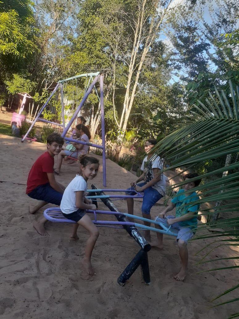 Notícia Boa: Grupo Ecológico Aruana realiza ação ambiental no Parque das Palmeiras em Rolim