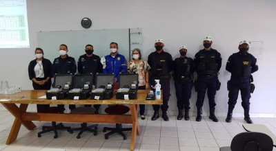 PMRO recebe novos etilômetros e intensifica policiamento de trânsito na Região do Café