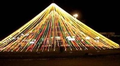 """Prefeitura de Rolim de Moura fará """"Natal de Luz 2020"""" na Rotatória Central"""