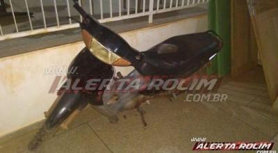 Rolim de Moura: Pm recupera moto furtada após denúncia anônima