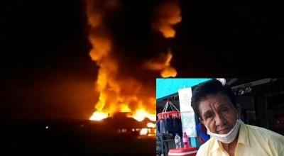 Comércio de Buena Vista, divisa entre Costa Marques e Bolívia, abre as portas para compras após incêndio