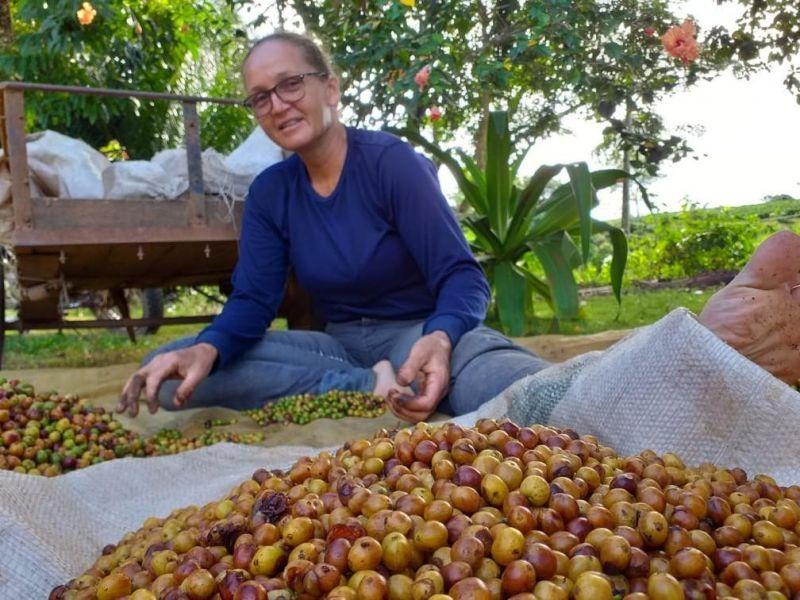 Cafeicultora de Novo Horizonte é premiada em 1º lugar no