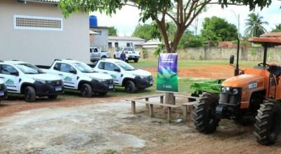 Entrega de veículos fortalece atendimento rural nas regiões da Zona da Mata e Vale do Guaporé