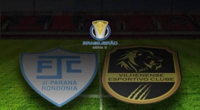 Ji-Paraná e Vilhenense duelam amanhã no Biancão