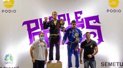 PM lotado em Rolim de Moura sagra-se campeão do Purple Games de Jiu-Jitsu