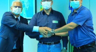 Prefeito eleito Aldo Júlio busca parceria com o Governador, Marcos Rocha e vice-governador, José Jodan