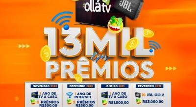 R$ 13 mil em prêmios: Rolim Net lança promoção de aniversário em live