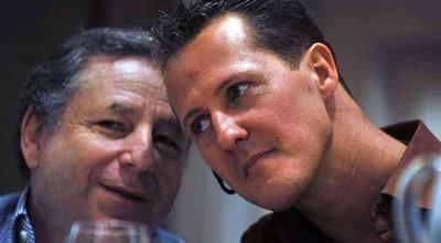 Todt fala sobre estado de saúde de Schumacher