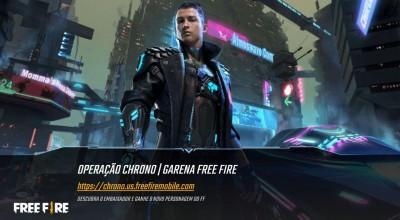 Free Fire: Cristiano Ronaldo é novo personagem do jogo