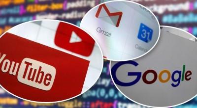 Gmail, Youtube e outros serviços do Google fora do ar
