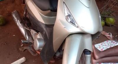 Polícia Militar de Rondônia recupera motocicleta furtada em Cacoal