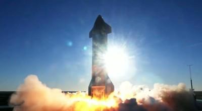 Protótipo de foguete da SpaceX explode ao pousar