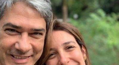 Após desabafo, William Bonner ganha declaração da esposa