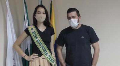 Cacoal: Miss teen Rondônia visita Câmara de Vereadores, o próximo desafio agora é o Miss Teen Brasil