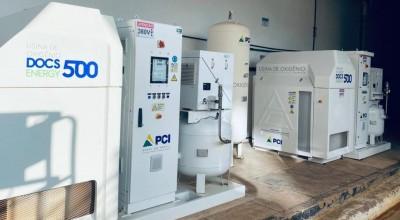 Hospital do Amor disponibiliza usina de oxigênio para ajudar unidades de saúde que precisam reabastecer cilindros em RO