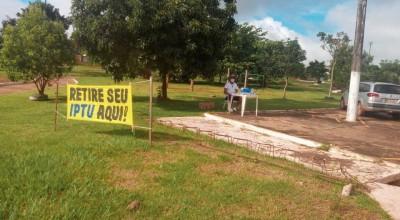 IPTU podem ser retirados em 04 bairros neste sábado em Rolim
