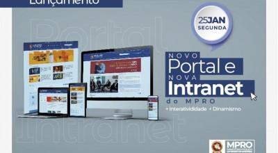 Mais dinâmico e intuitivo: Ministério Público de Rondônia lança novo portal e nova Intranet na segunda-feira