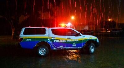 POLÍCIA - Família é feita refém por horas