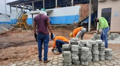 Reeducandos desenvolvem atividades laborais na Casa de Detenção de Cacoal