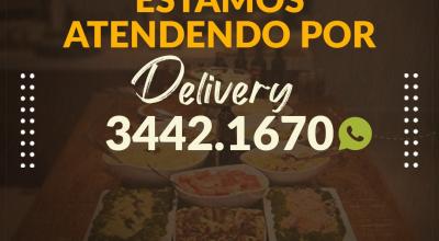 Restaurante Sal da Terra está atendendo por Delivery