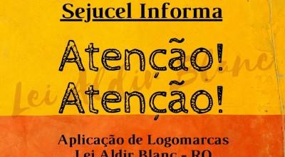 Sejucel disponibiliza logomarcas para os proponentes contemplados pela Lei Aldir Blanc