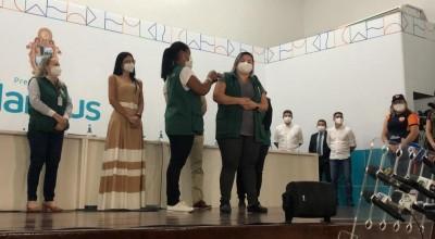 Vacinação contra Covid-19 em Manaus é suspensa para replanejamento