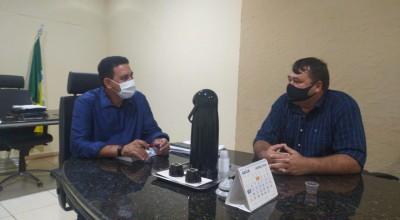 Rolim: Vereador Eliomar Monteiro se reúne com prefeito Aldo Júlio e pede por Nova Estrela