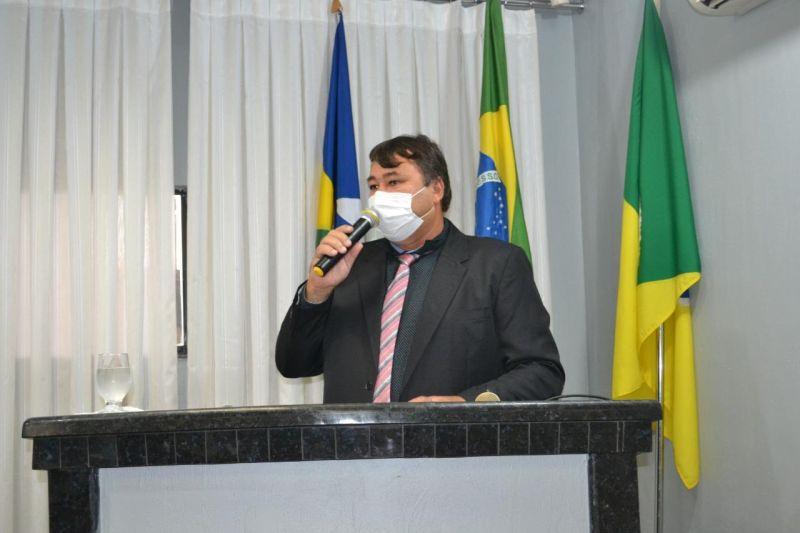 Eliomar Monteiro agradece ao deputado Expedito Neto pelos recursos disponibilizados para Rolim de Moura e Nova Estrela