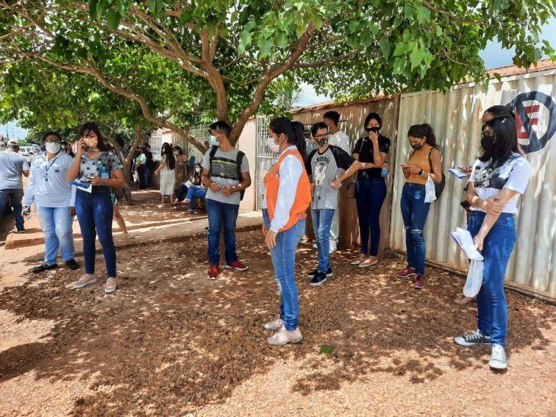 Candidatos de Rondônia fazem primeiro dia de prova da reaplicação do Enem 2020