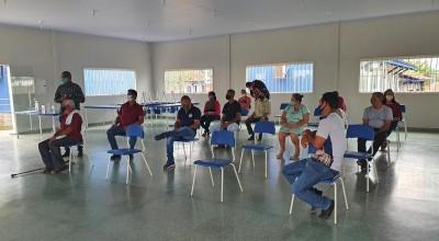 Comando do 4° Batalhão participa de reunião com lideranças locais no Distrito do Riozinho