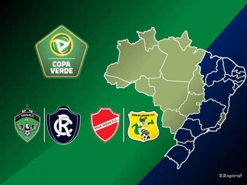 Jogos Copa Verde 2020 acontecem neste final de semana