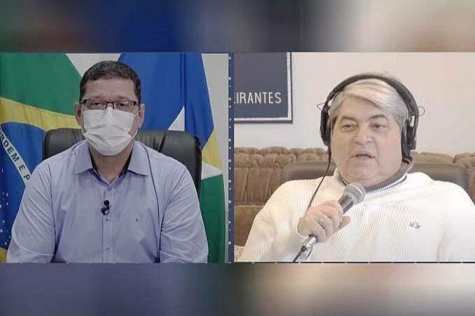Em entrevista a Datena, Marcos Rocha volta a falar de déficit de médicos em RO