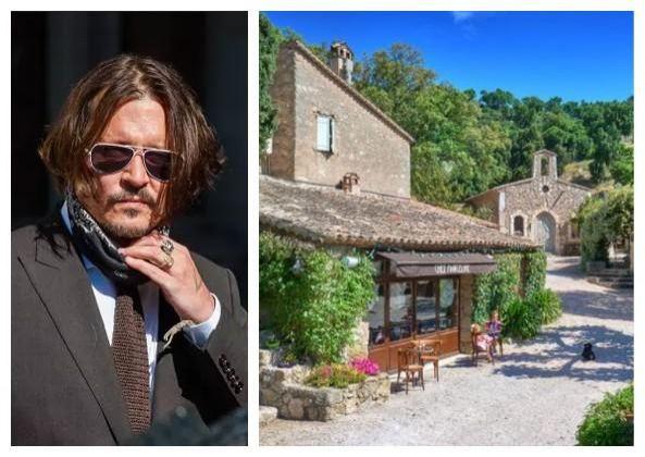 Johnny Depp coloca vila francesa de R$ 300 milhões à venda