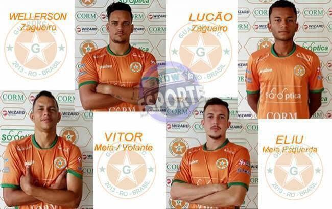 Lucão ex-Vilhenense e mais três jogadores são regularizados pelo Guaporé