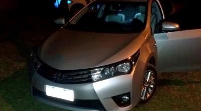 Polícia Militar age rápido e recupera veículo roubado em Espigão D'Oeste