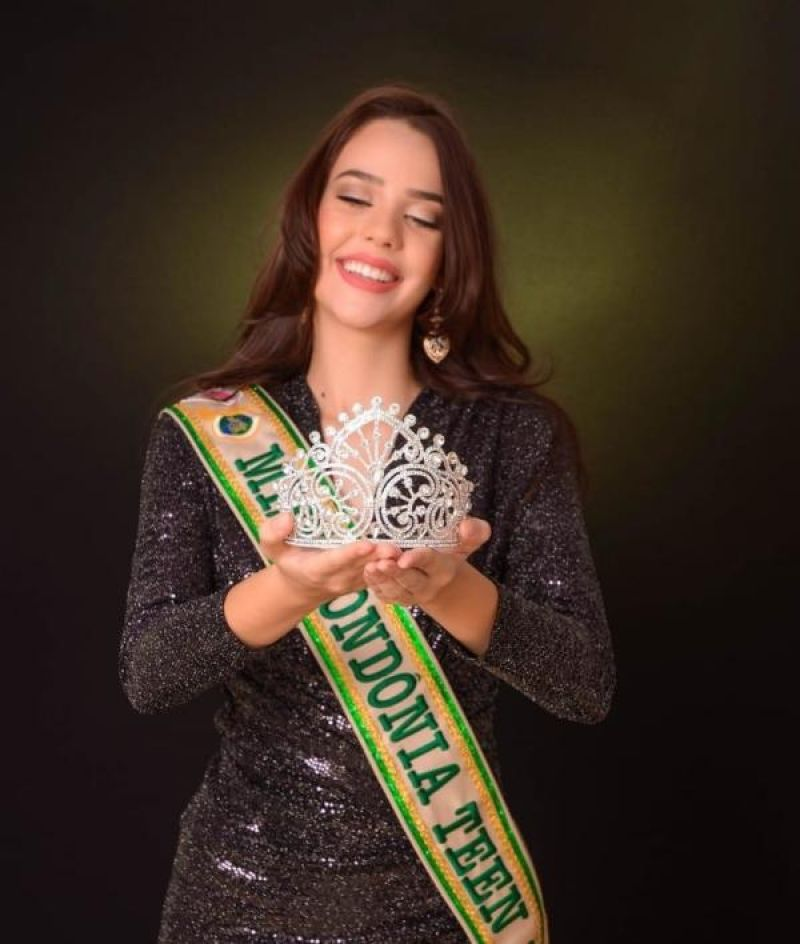 Rondoniense participa do Miss Teen Brasil