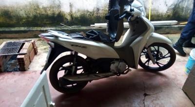 Polícia Militar recupera mais uma moto roubada em Rolim