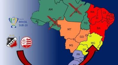 Alteração na mudança: Real Ariquemes e Náutico/PE não será em Rondônia, nem no Pará