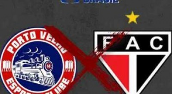 Estreando em competições nacionais, Porto Velho-RO perde para o Ferroviário-CE