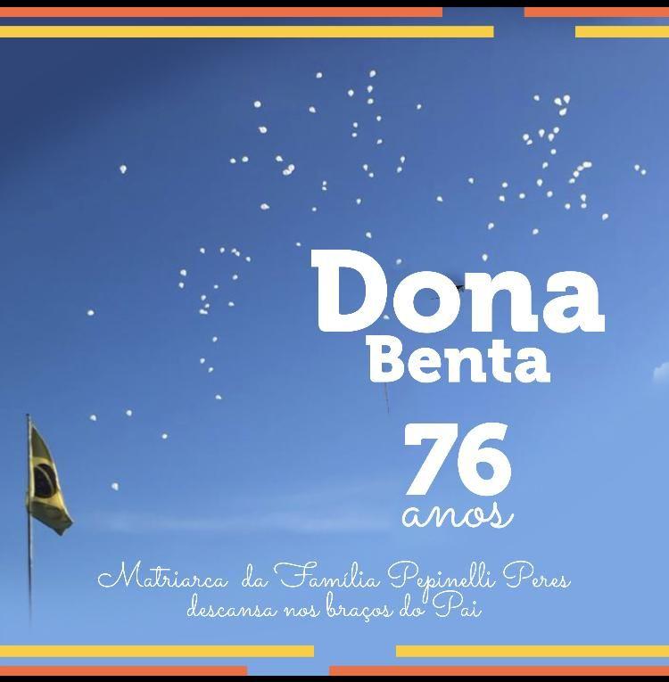 Homenagem ao aniversário da Professora e sócia fundadora da Farol Benta Idavina Ferreira Pepinelli Peres