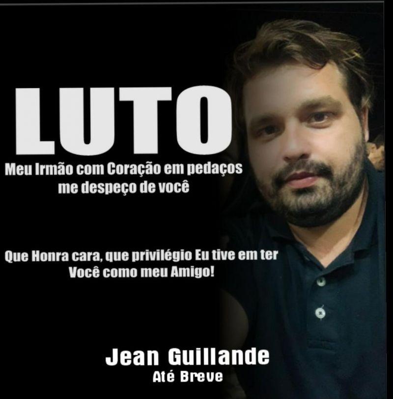 Vereador Eliomar Monteiro lamenta morte do goleiro Jean Guillande