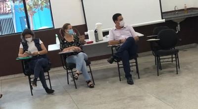 Prefeito Aldo Júlio participa de reunião com diretores das Unidades de Saúde