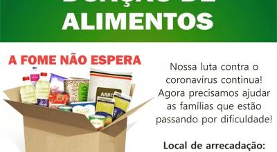 ACIRM divulga Campanha de Doação de Alimentos