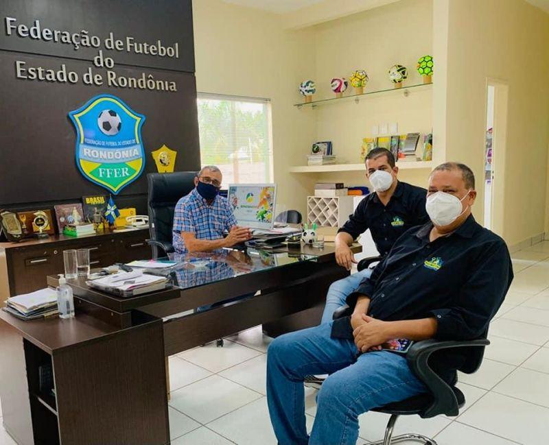 Amerolim busca apoio para fortalecer o esporte em Rolim de Moura