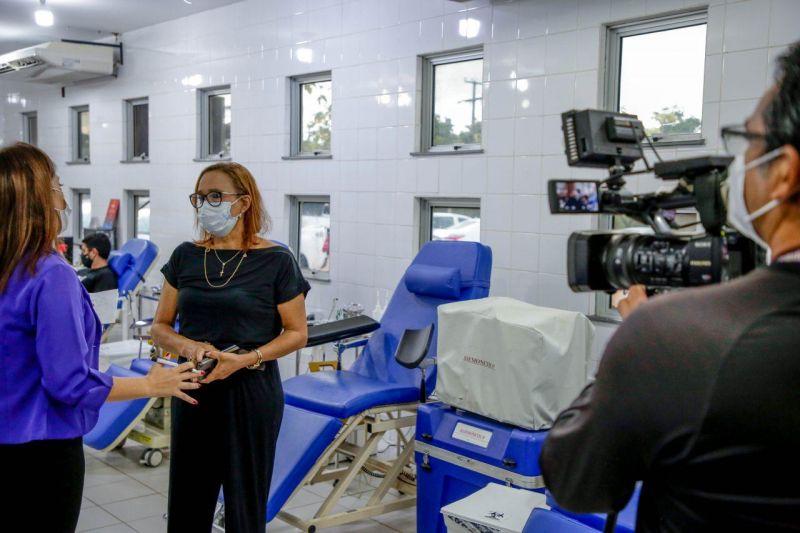 No dia do Jornalista, Fhemeron reconhece a importância desse profissional para a manutenção do estoque do banco de sangue