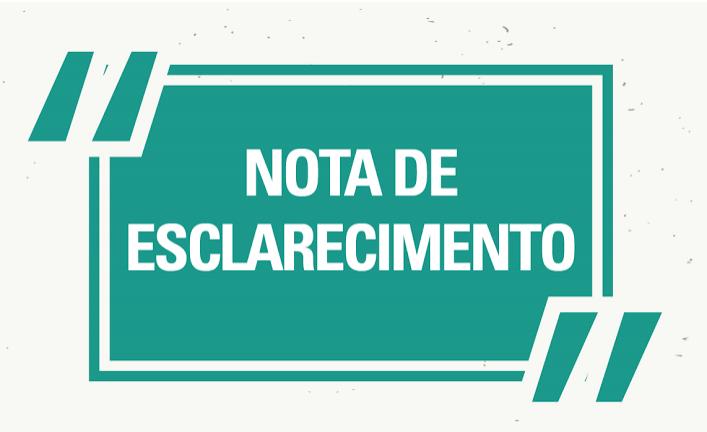 NOTA DE ESCLARECIMENTO DA PREFEITURA DE ROLIM DE MOURA