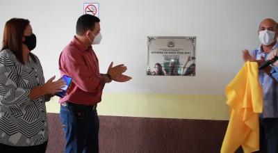 Rolim de Moura: Prefeitura Inaugura reforma da Escola Dina Sfat