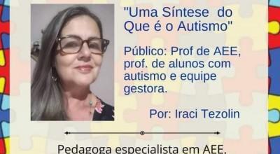 Rolim: Secretaria de Educação discute e sensibiliza sobre Autismo em evento virtual com profissionais da educação