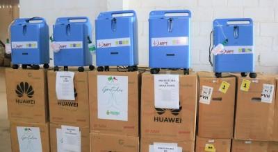 Rondônia recebe 50 concentradores de oxigênio emprestados pelo Amazonas